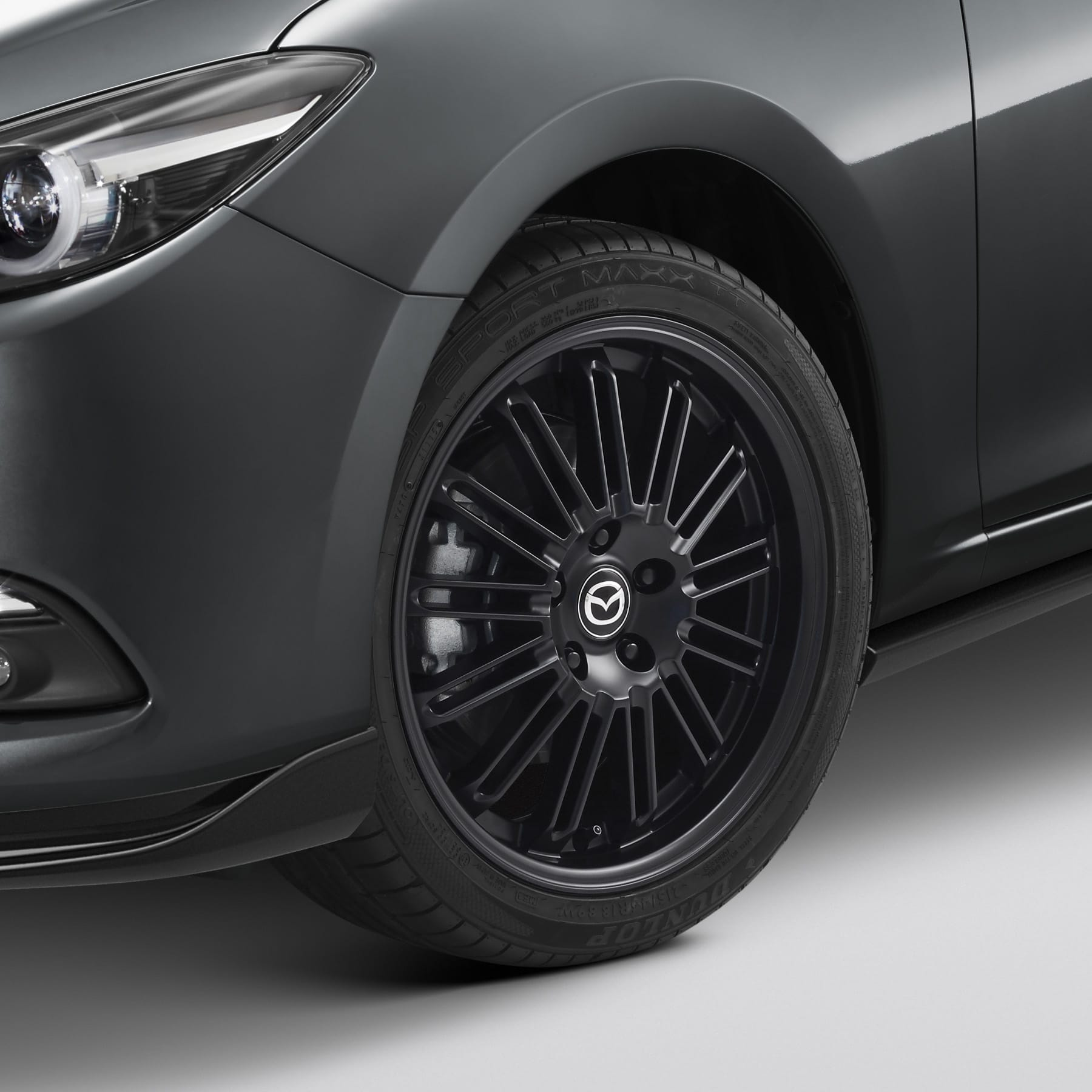 18-Inch Multi-Spoke Black Alloy Wheel