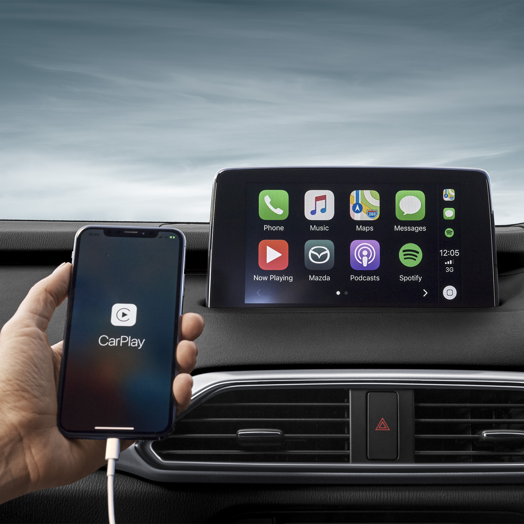 Apple CarPlay® & Android Auto®