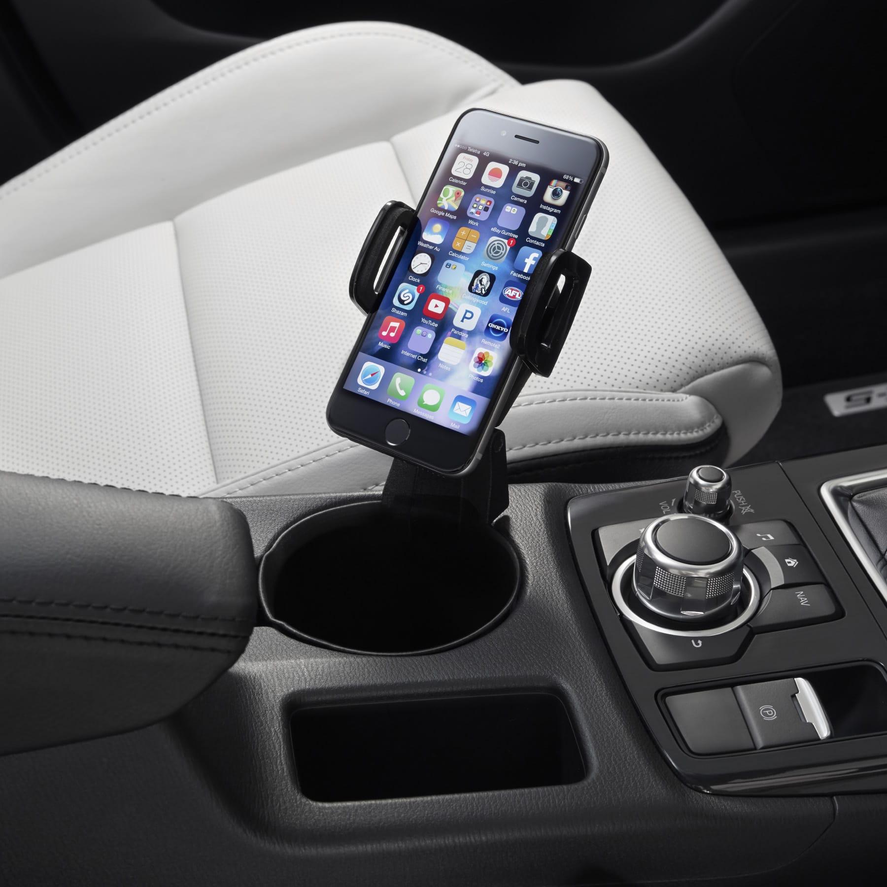 ke12acmph mobile phone holder mazda accessories. Black Bedroom Furniture Sets. Home Design Ideas