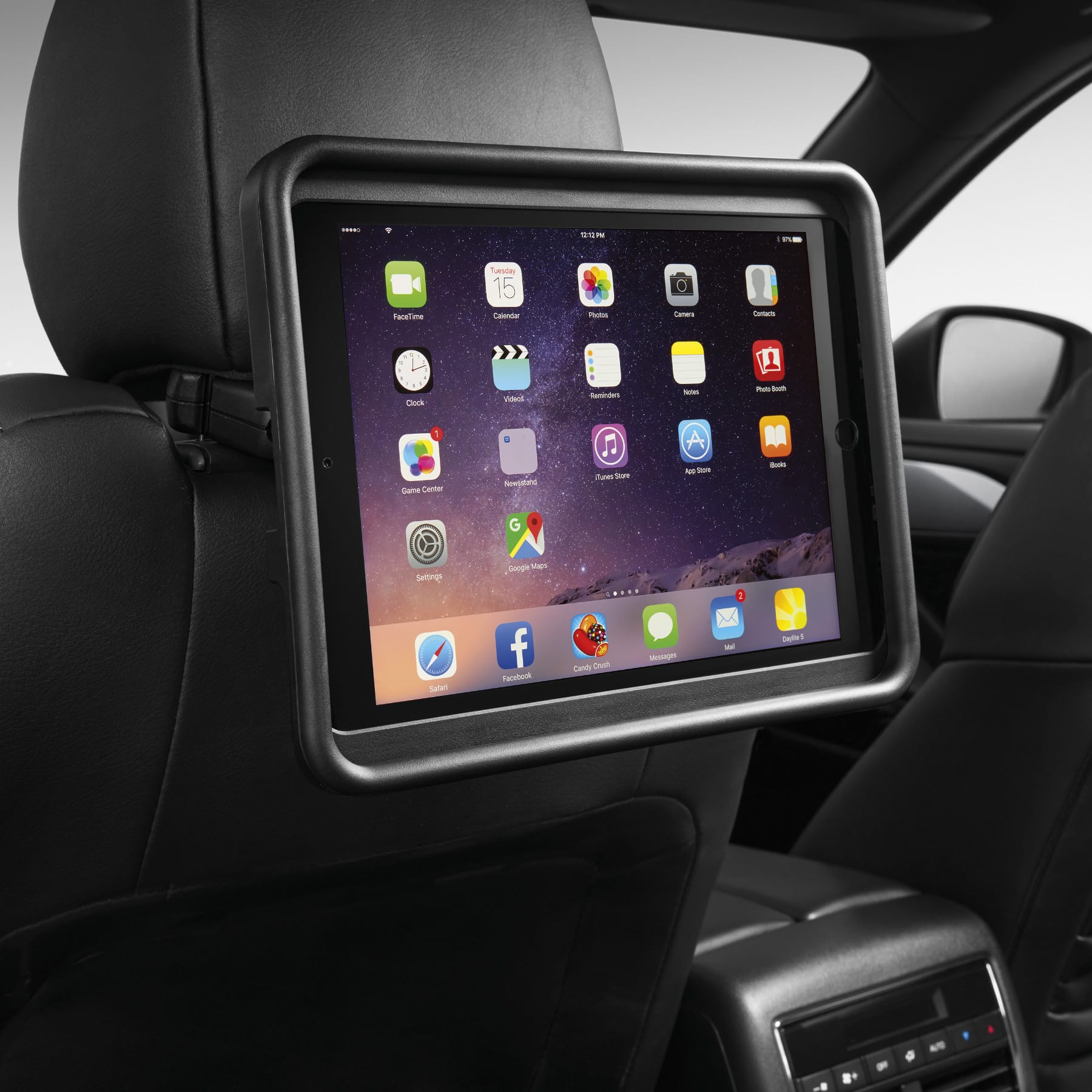 Car Back Seat Bracket Mount Holder For Ipad Gps