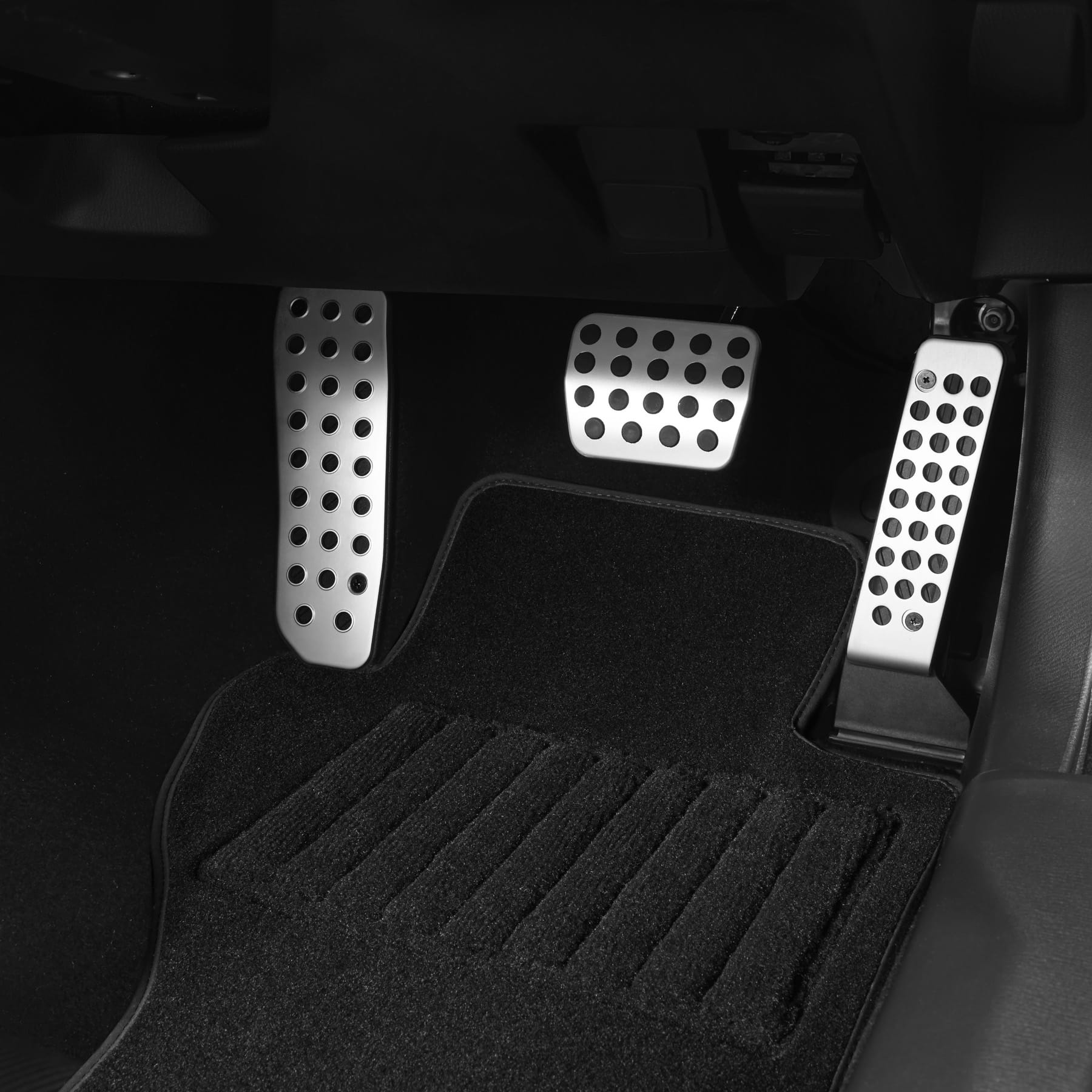 Automatic Alloy Pedal Covers