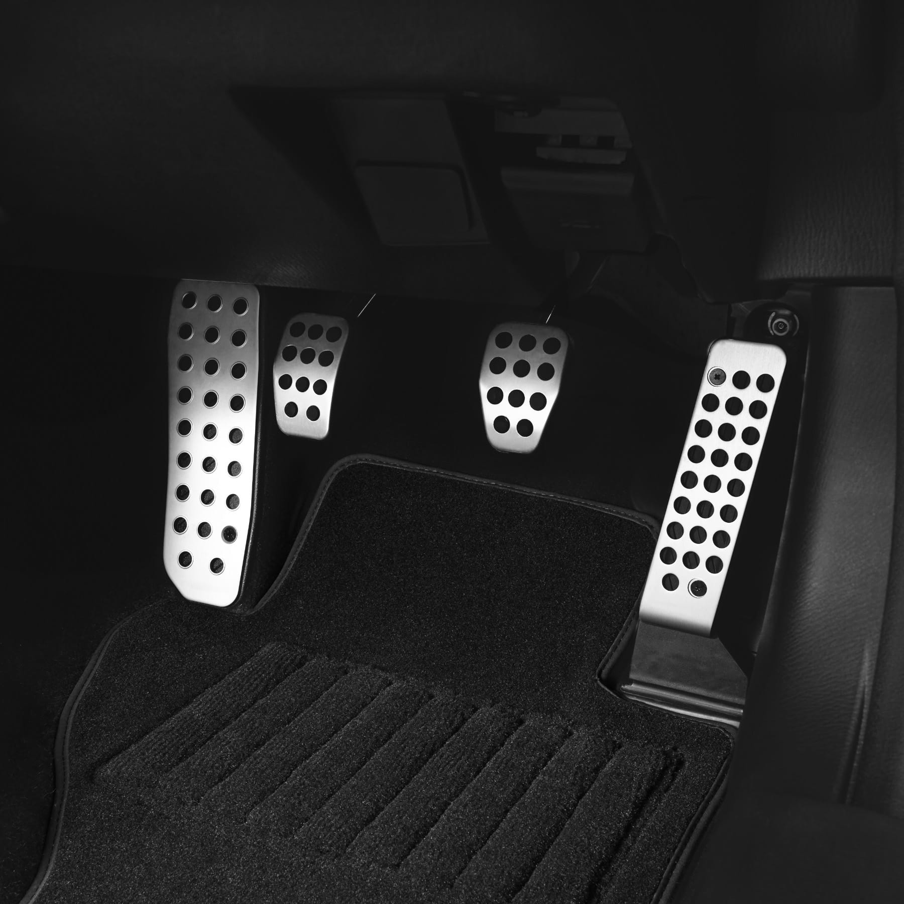 Manual Alloy Pedal Covers - Mazda Accessories