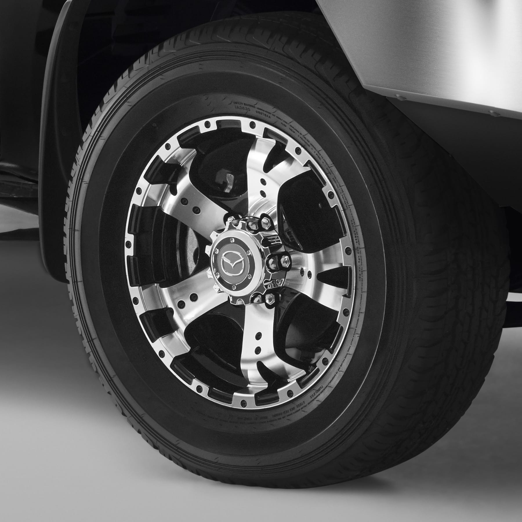 17-INCH 5-SPOKE ALLOY WHEELS
