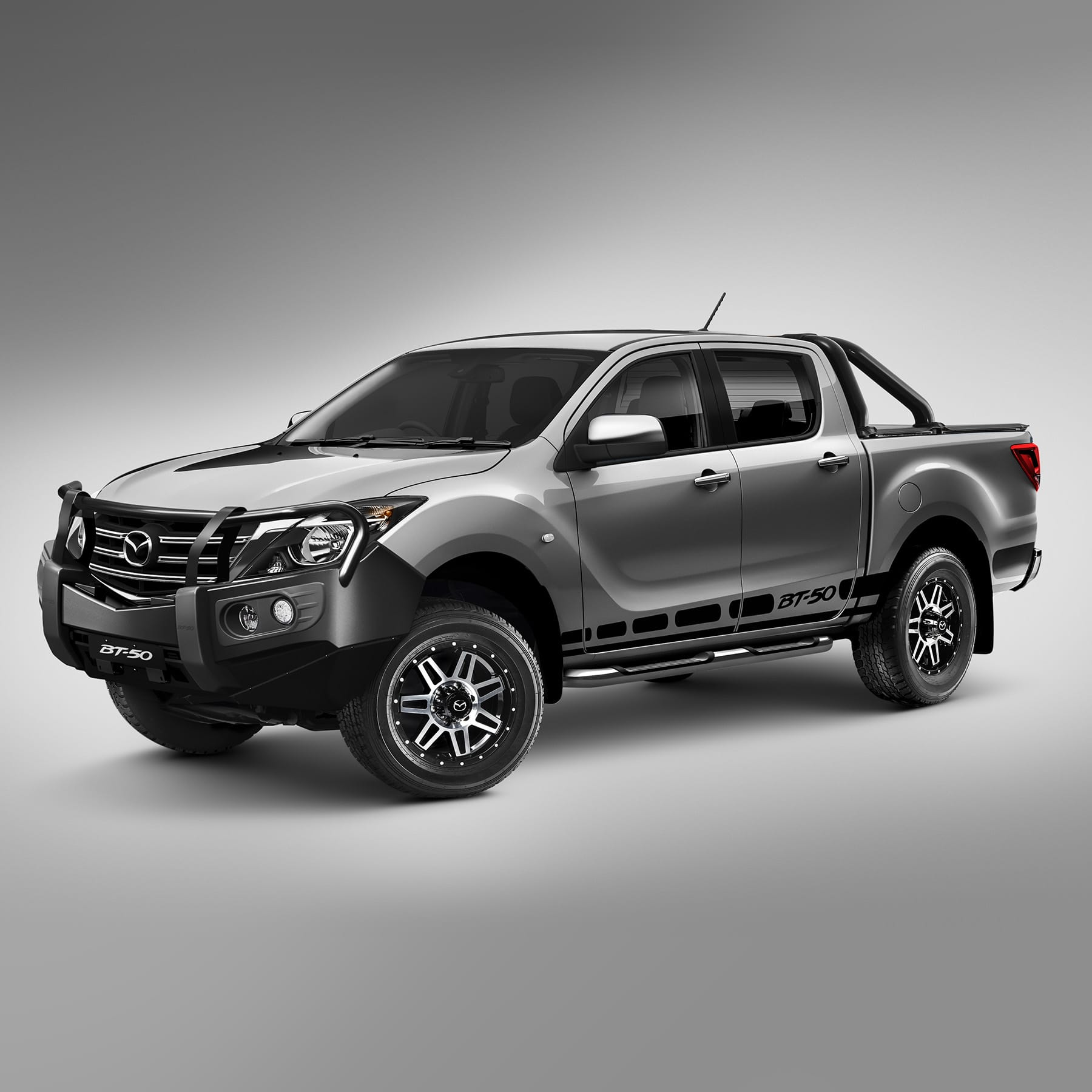 mazda accessories personalise your mazda bt 50. Black Bedroom Furniture Sets. Home Design Ideas