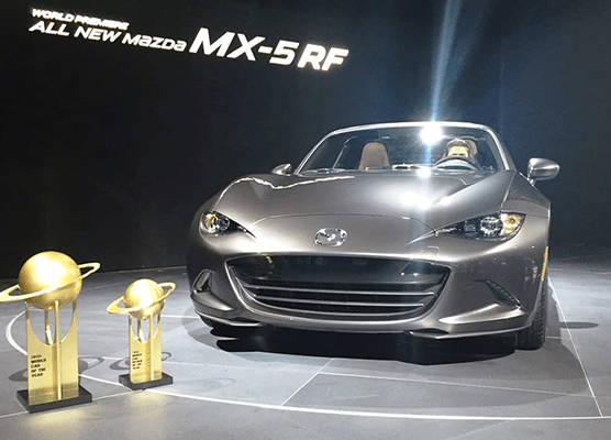 All-New Mazda MX-5 wins both 2016 World Car of the Year and World Car Design of the Year