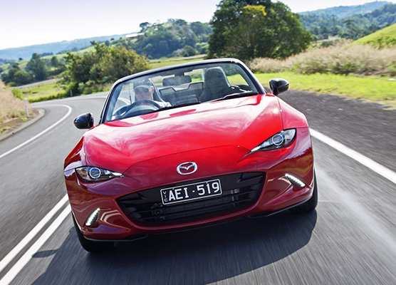 All-New Mazda MX-5 - the world's most popular two-seater roadster