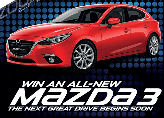 All-New Mazda3 Competition Winners