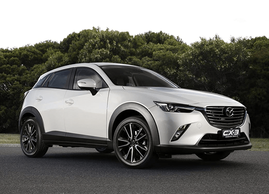 First-Ever CX-3 to offer unprecedented mix of grades, performance and fuel economy