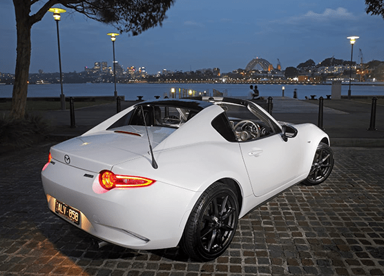 Mazda MX-5's five star ANCAP safety rating extends to RF