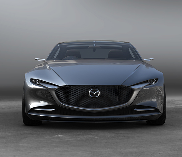Mazda reveals the vision coupe