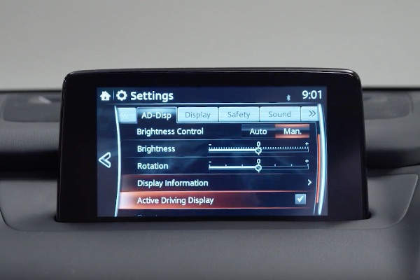 Adjust the Active Driving Display