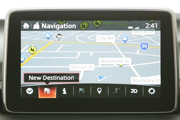 Use Satellite navigation