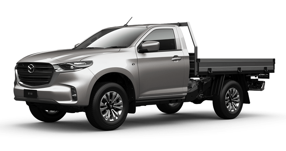 BT-50 SINGLE CAB 4X4 XT MANUAL W/ TRAY