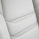 Pure White Nappa Leather