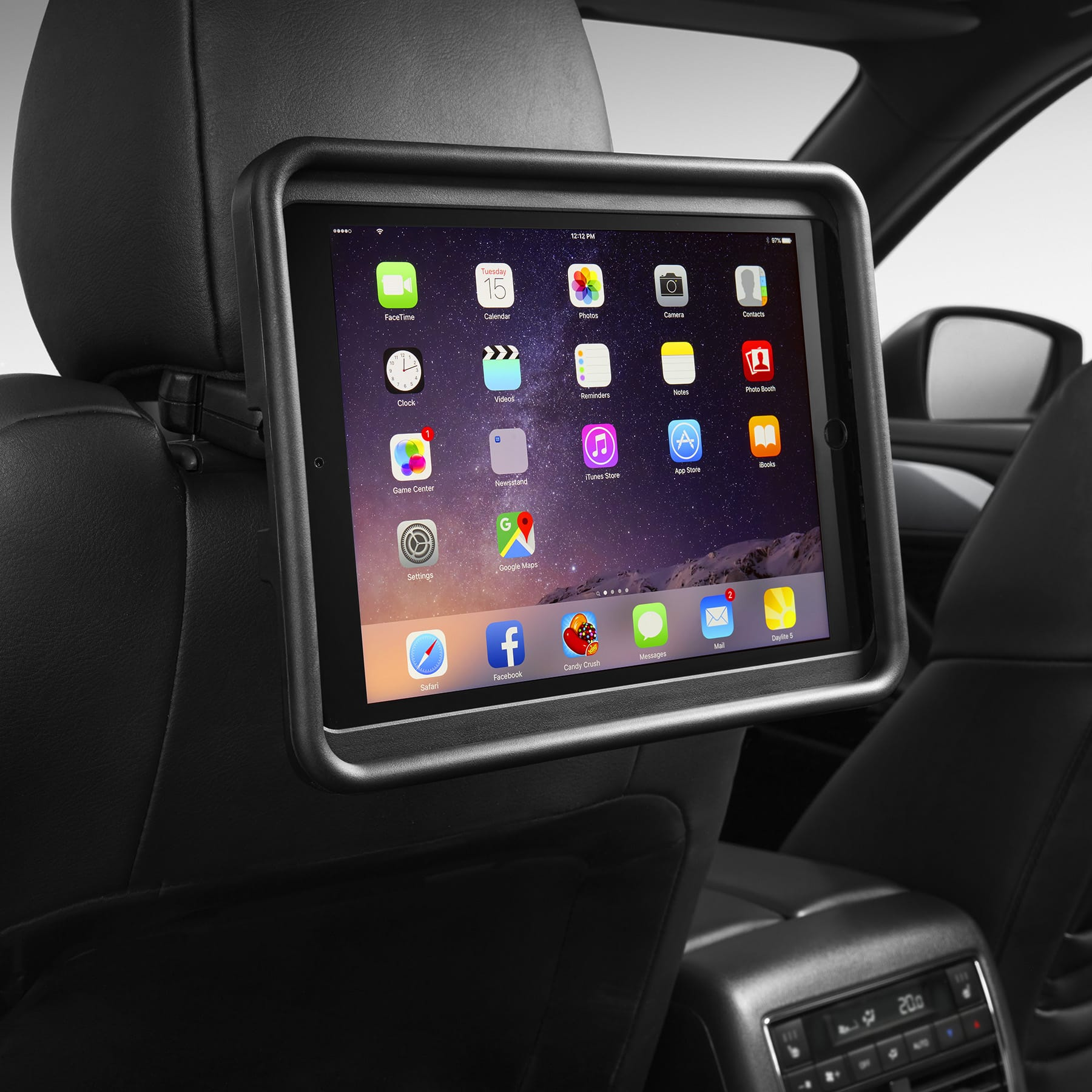 Rear Seat Entertainment Holder