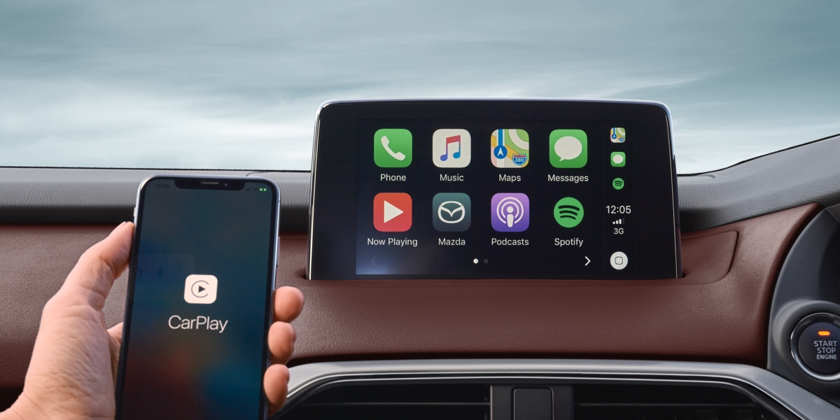 MZD CONNECT NOW WITH APPLE® CARPLAY & ANDROID® AUTO
